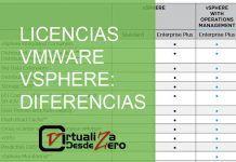 licencias vmware vsphere