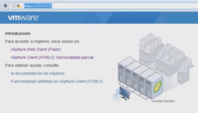 CAMBIAR IDIOMA VCENTER 6.5 Y ESXI 6.5