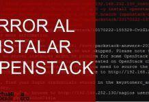 error python 2 openstack