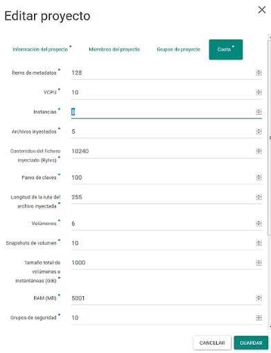 gestionar permisos de usuarios y grupos en openstack6