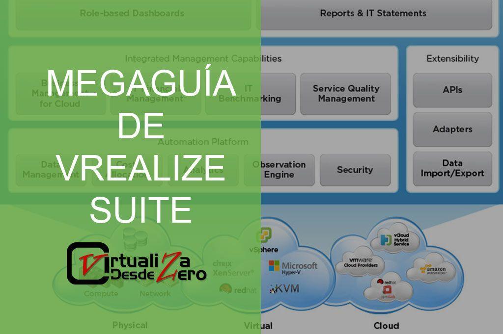 Qué es vRealize? Megaguía de VMware vRealize Suite