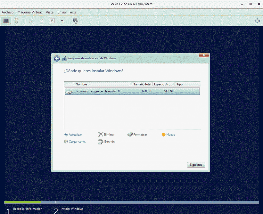 windows en openstack 14